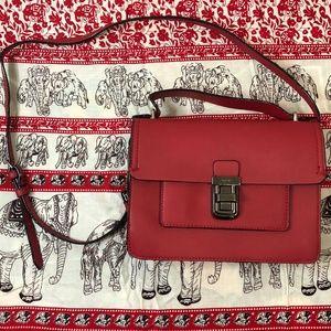 Parfois Red Crossbody Bag